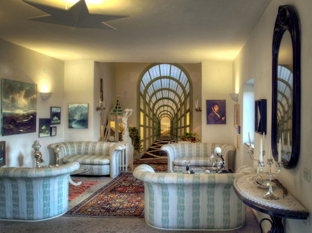 Living room, Paolo Portoghesi