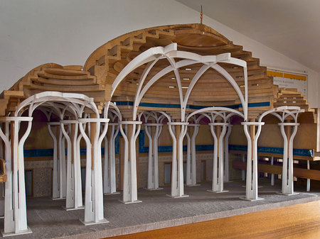 Architectural Model of the Mosque of Rome